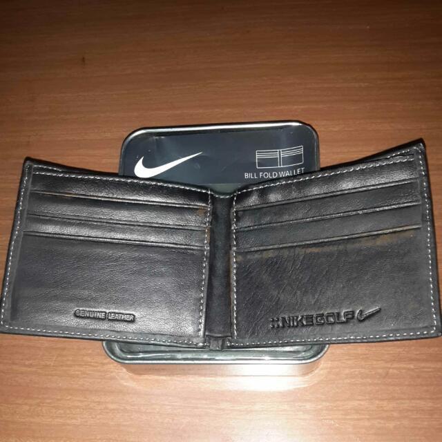 original nike golf wallet for men