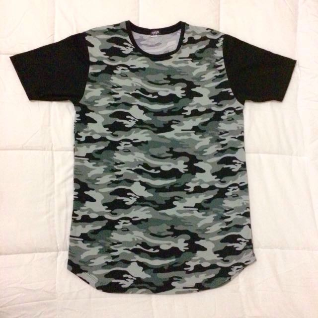 OXYGEN Camou Long Tee