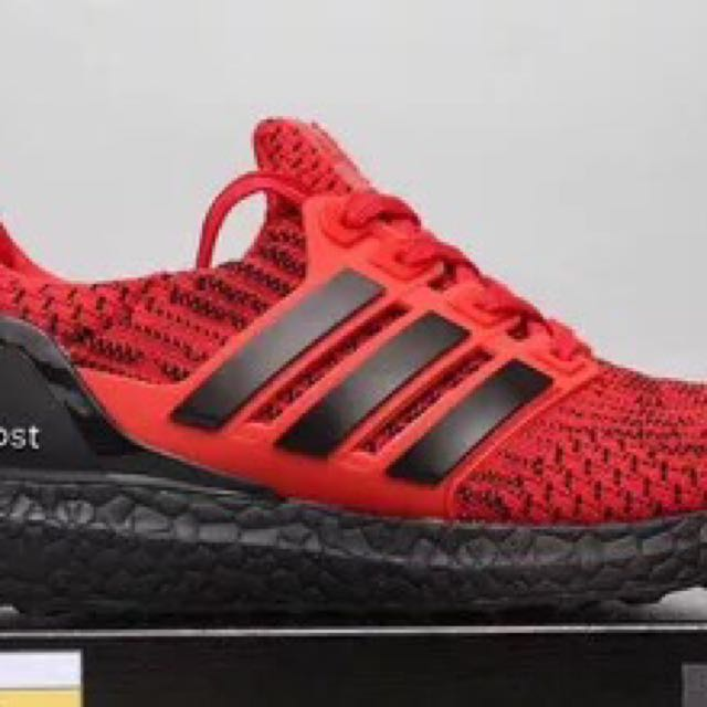 c3233a0d6e8a PO  Adidas Ultra Boost ub 4.0 red   black