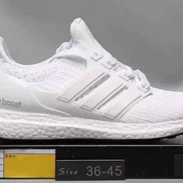 0ca104272 PO  Adidas ultra boost ub 4.0 white