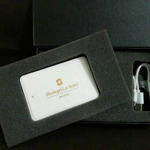 Power Bank Hotel Shangrila #cintadiskon