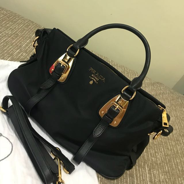 ... coupon code for prada bag bn1903 tessuto nylon used twice complete  inclusion luxury bags wallets on ce07b5dbe304f