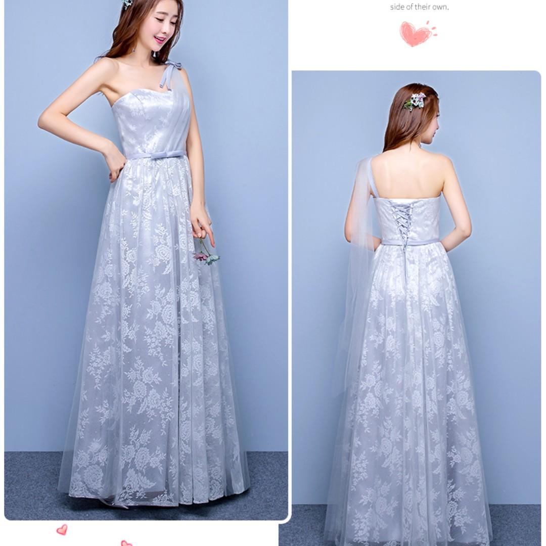 Attractive Grey Prom Dress Frieze - All Wedding Dresses ...