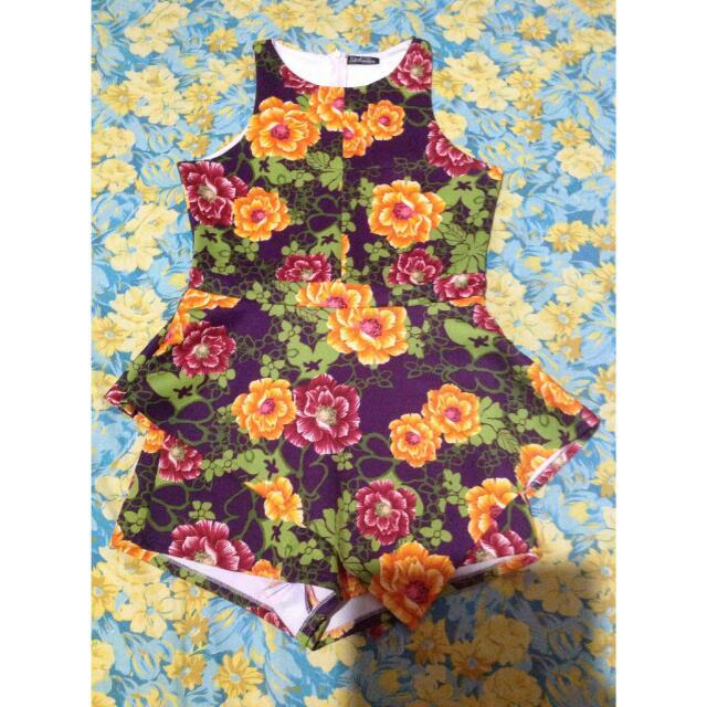 Premium Zara Flower Look Alike Jumpsuit