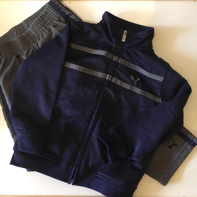 Puma Terno Jacket and Jogging Pants 24m