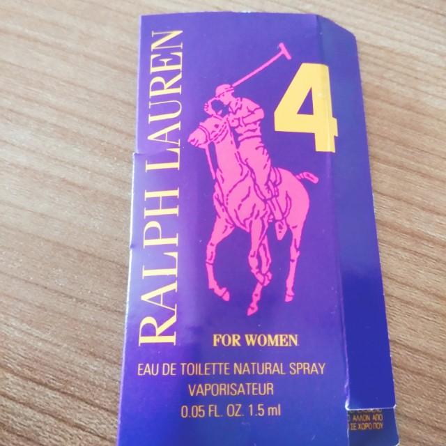 Ralph Lauren Big Pony 4 EDT For Women 1,5ml
