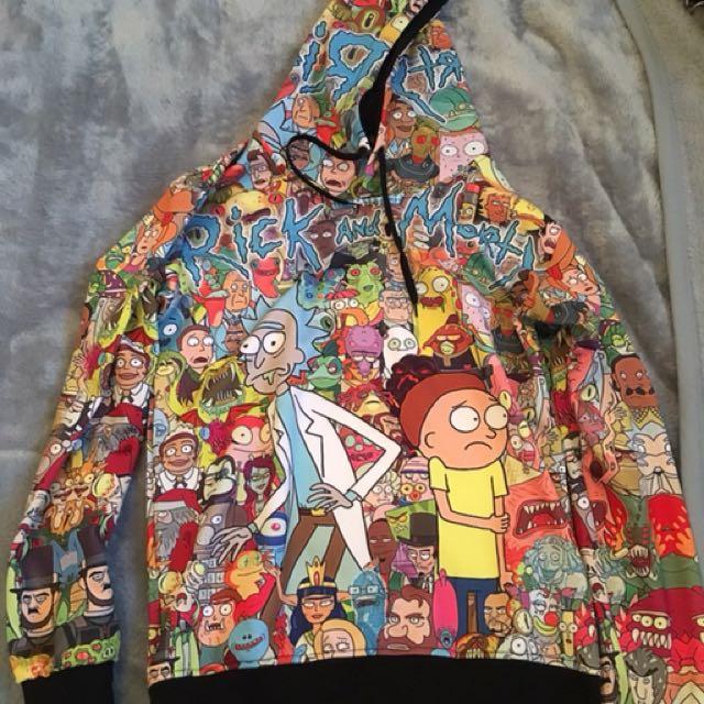 Rick and Morty Hoodie