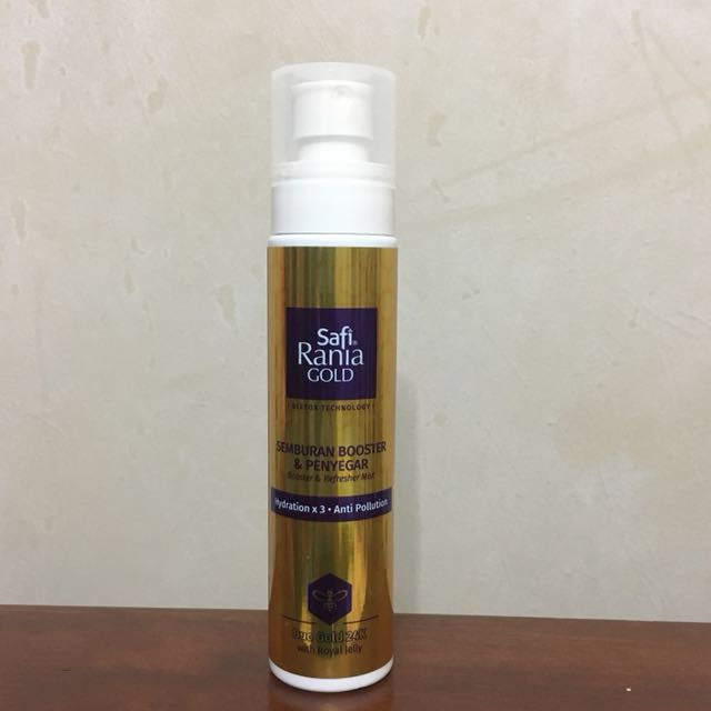 Safi Rania Gold Booster & Refresher Mist