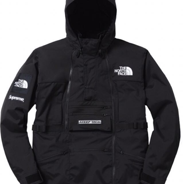 Supreme X The North Face Steep Tech Jacket Tnf Luxury Apparel On Carou