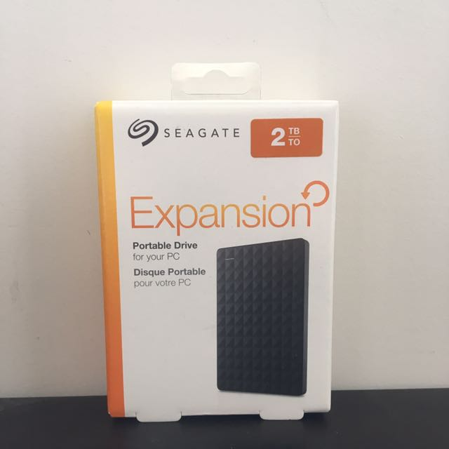 Seagate Expansion Portable Hard Drive 2TB