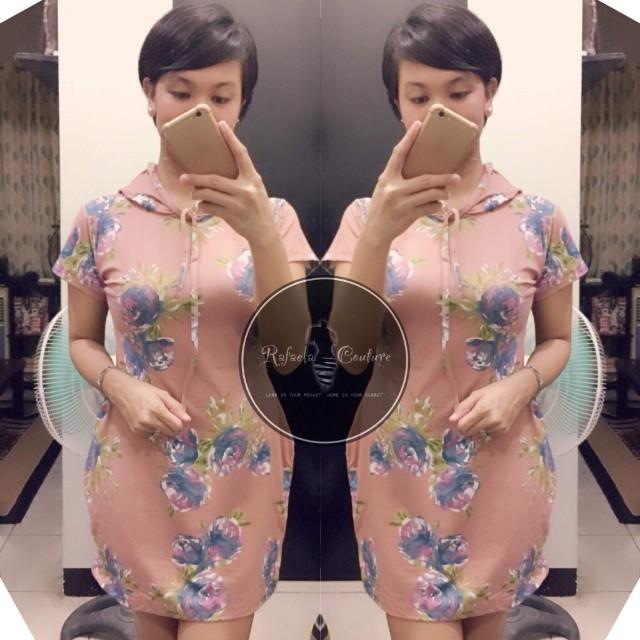 SENECCA Hoodie Top/Mini Dress