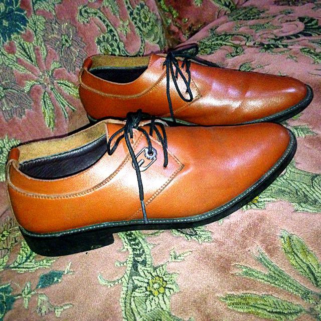 Sepatu kulit Spider King Ori