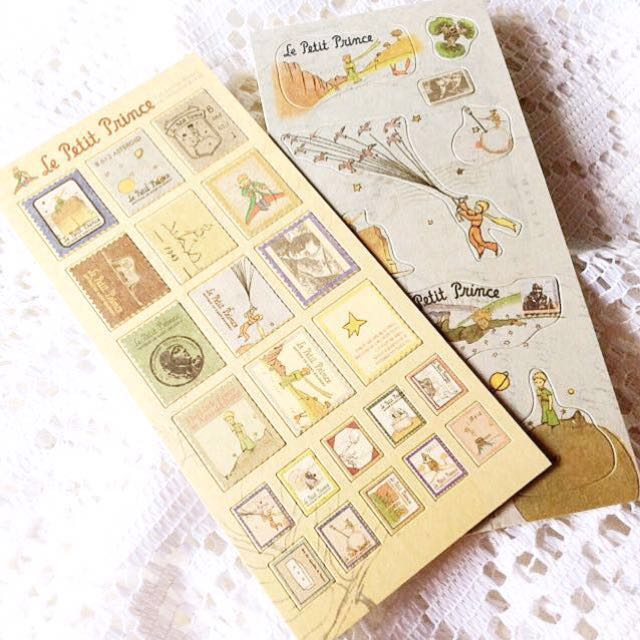 [Set of 2] Le Petit Price - Set of 2 Stickers.