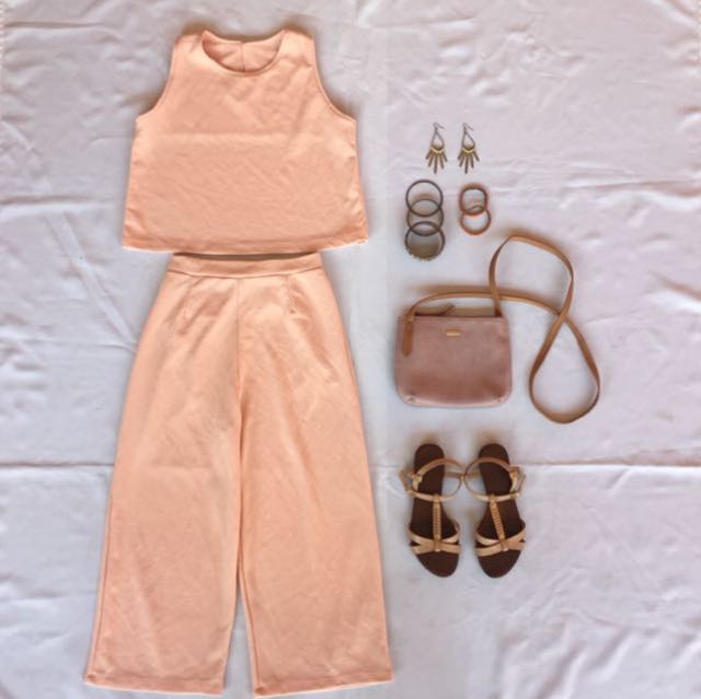 Sleeveless and Culottes Pair