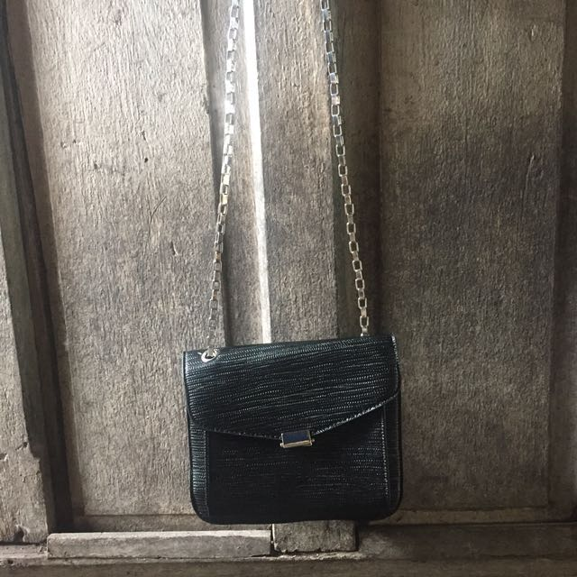 SM Parisian black party bag