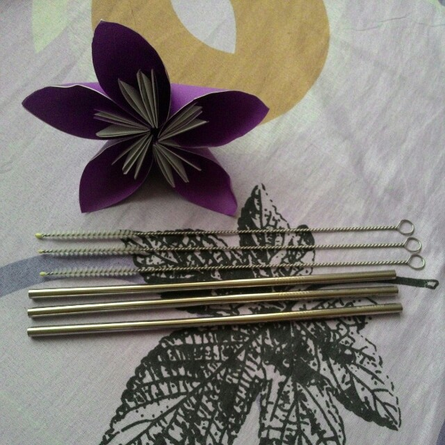 Stainless straw