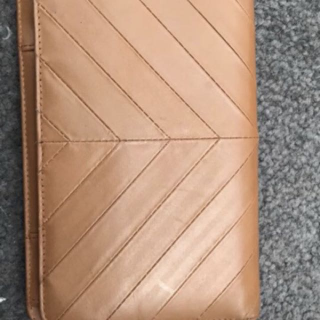 Status Anxiety Tanned Wallet