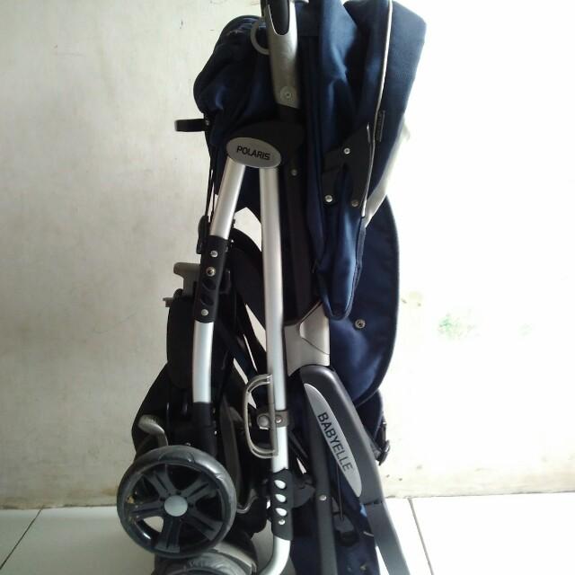 Babyelle Tango Stroller Single S-509 - Baby Elle Tango Baby Stroller - Kereta Dorong