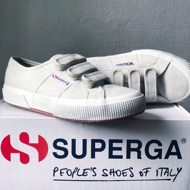 Superga 2750 Strap - Grey Vapor, Women