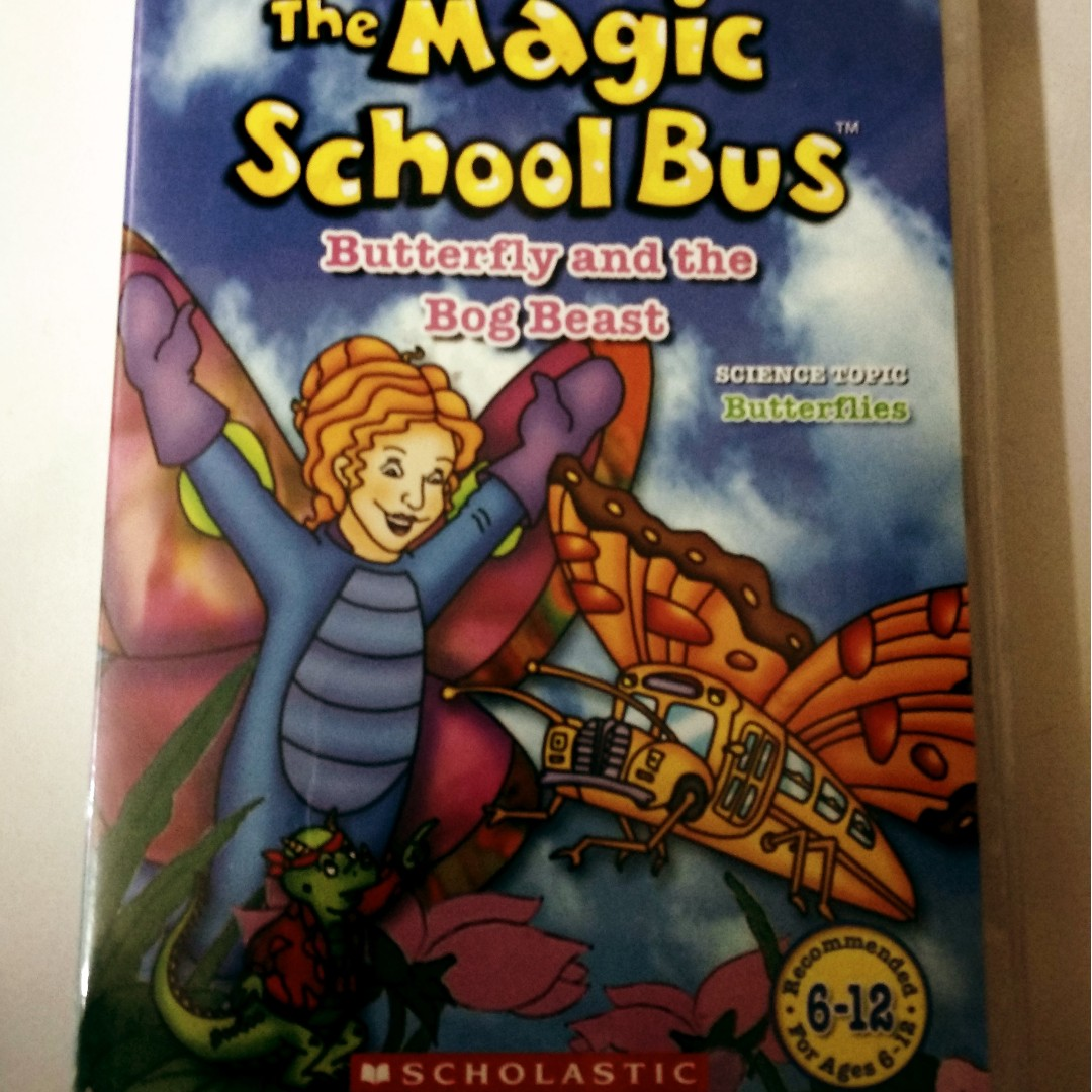 The Magic School Bus Butterfly And The Bog Beast Dvd Music