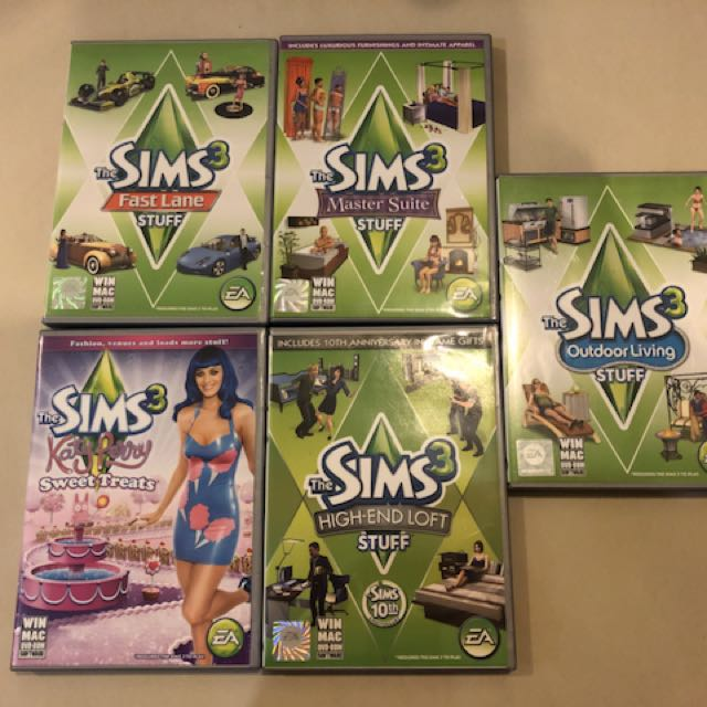 The Sims 3 Stuff Pack, Toys & Games, Video Gaming, Video