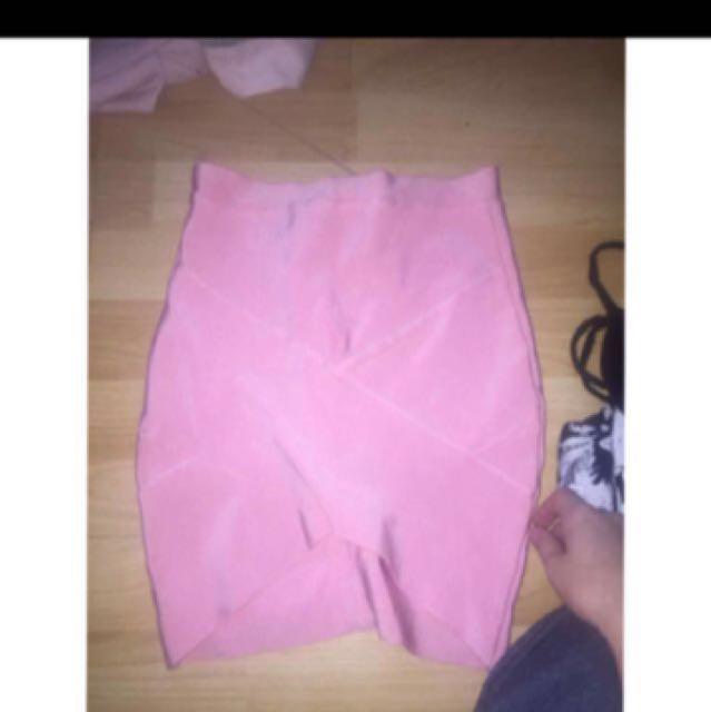 Tiger miso bodycon skirt