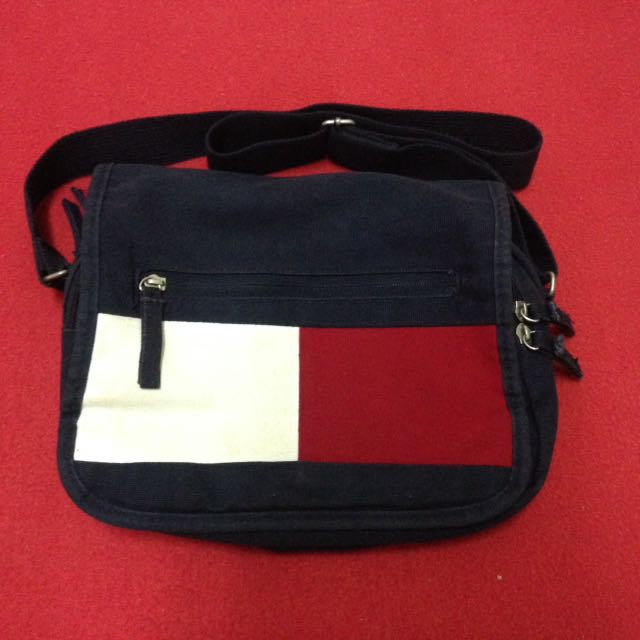 Tommy Hilfiger Sling Bag Men S Fashion Bags Wallets On Carousell