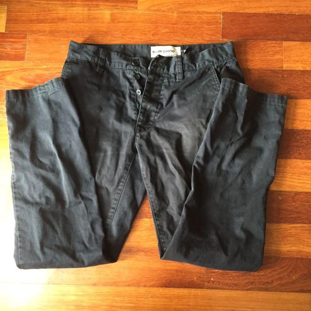 Topman Slim Chino Pants