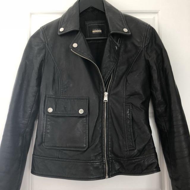 Trafaluc Leather Jacket!!