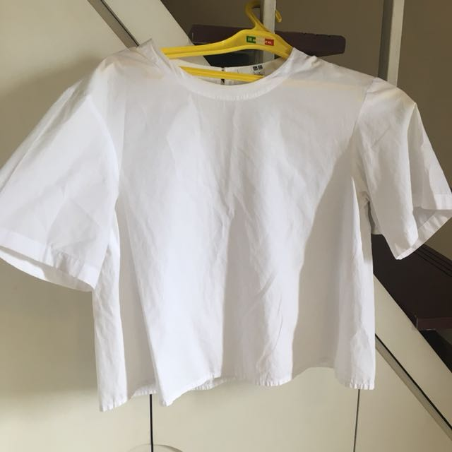 Uniqlo blouse putih