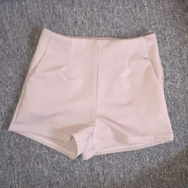 Valley girl high Waist nude pants