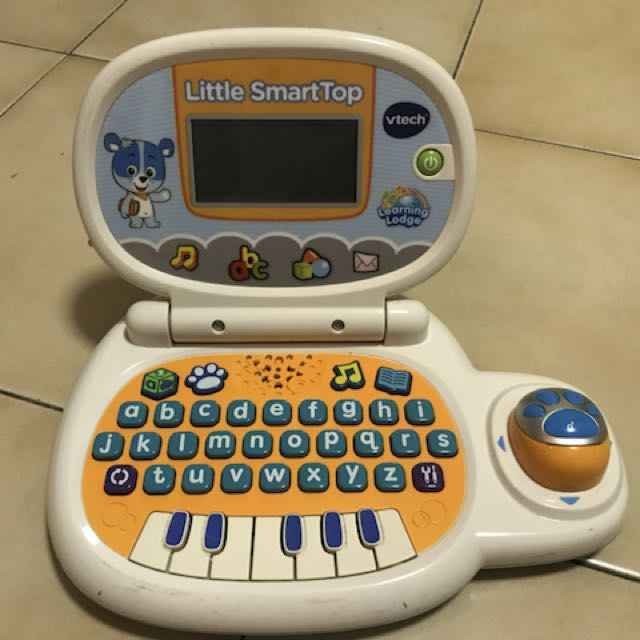 Vtech Toy Laptop 7 10 Rarely Used Babies Kids Toys Walkers On