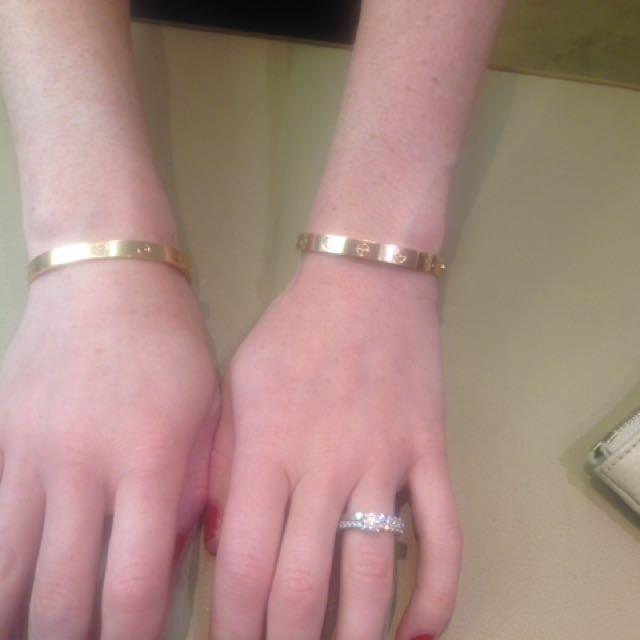 e8d53c126d74e3 Cartier Love Bracelet Sizing - Bracelet Photos Onneyuonsen.Com