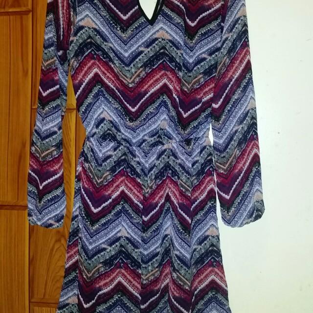 Xhilaration classy chiffon dress
