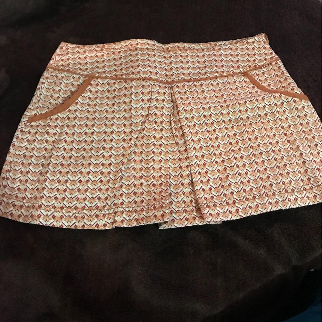 Zara 70s Inspired Mini Skirt