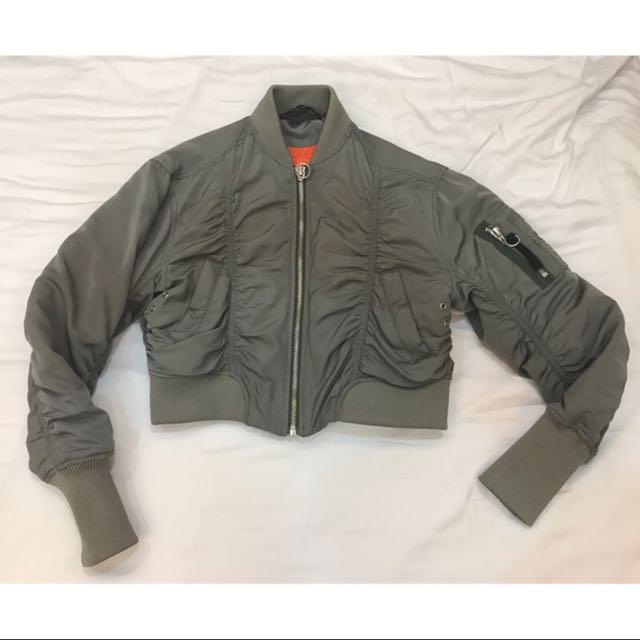 ZARA 飛行外套 夾克 飛行員外套