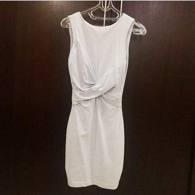 Zara TRf Backless Dress