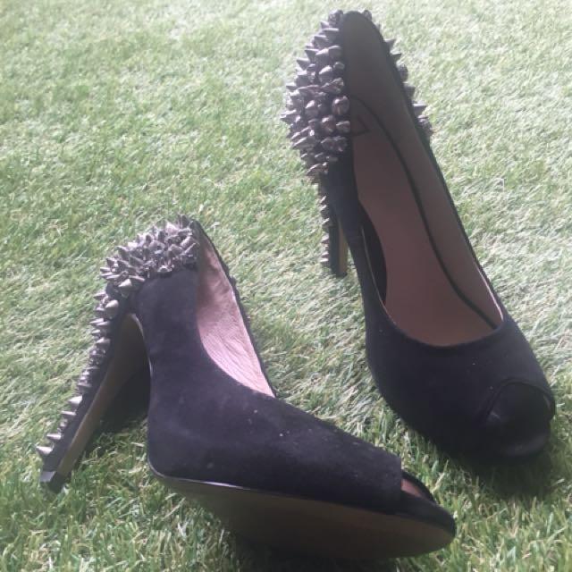 Zu Rihanna Inspired studded heels