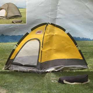 """"""" RHINO"""" Two-Man Free-Standing Dome Tent With Fly"""