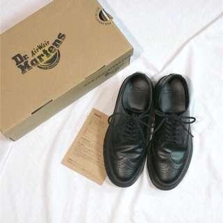 賣家二手。Dr martens 雕花 厚底 復古 馬丁 鞋 uk5