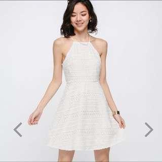 Bnwt Rondea Crochet Dress White Size M