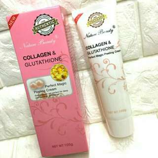 AUTHENTIC! Collagen and glutathione