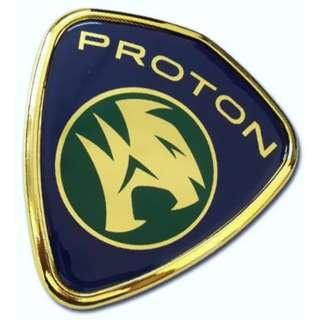 Gen2 3D Front Emblem Gold Blue Original