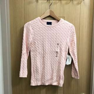 Polo Ralph Lauren Women Cable Knitted Pullover - Polo 女裝細紐繩織法冷衫