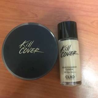 CLIO kill cover B.B. cushion no.4 Ginger