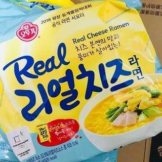 **韓國** 人氣不倒翁芝士拉麵 Real Cheese