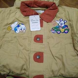 男童(約2~3歲)成套厚外套&長褲