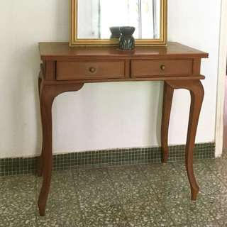 Elegant rosewood dressing table