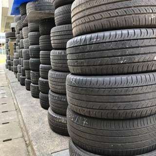 Clearance SALE! Used tyres for sale!!