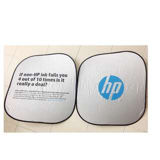 Car windscreen sunshade from HP #CNY88